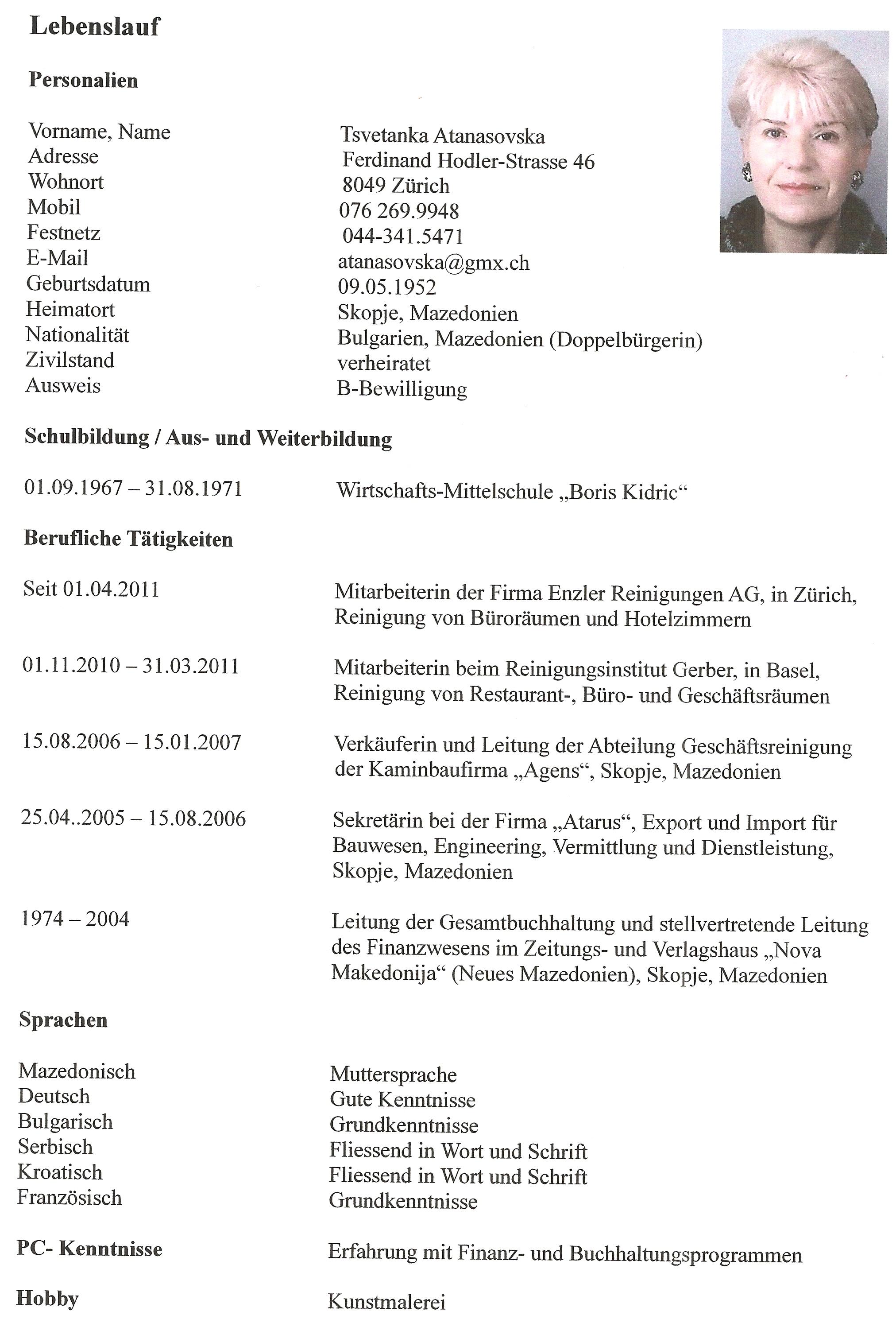 Groß Konditor Lebenslauf Ideen - Entry Level Resume Vorlagen ...